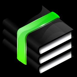 黑色质感电脑软件图标 图标 素材库 资料库