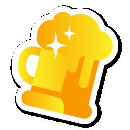 金色生活工具娱乐png素材图标 图标 素材库 资料库